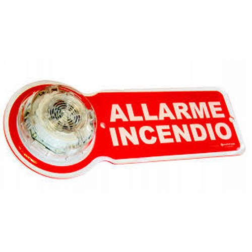 NOTIF.VISUAL PANEL ALLARME INCENDIO 5pcs