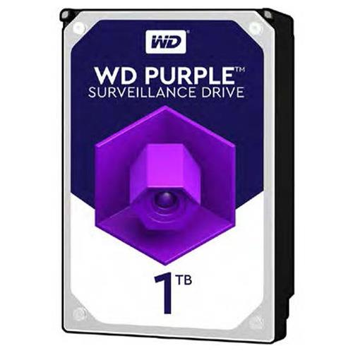 "Disco rigido WD Purple WD10PURZ 1 TB 3.5"" Interno - SATA - 5400giri/min - 64 MB Buffer"