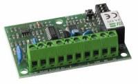 Scheda di decodifica a microprocessore a 1 relè