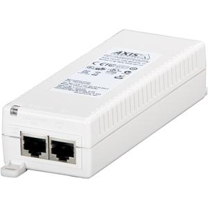 Iniettore PoE AXIS T8120 - 110 V AC, 220 V AC Ingresso - 48 V DC Uscita - 1 10/100/1000Base-T Output Port(s) - 15 W