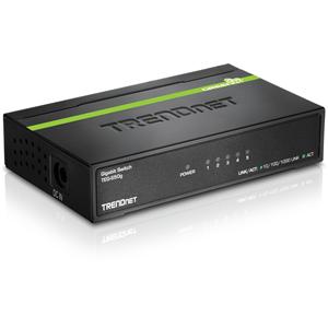 Ethernet Switch TRENDnet TEG-S50G 5 Porte - 5 x Gigabit Ethernet Rete - 2 Layer Supported