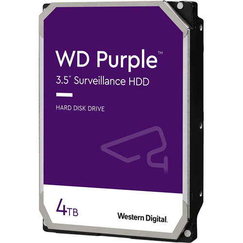 "Disco rigido WD Purple WD40PURZ 4 TB 3.5"" Interno - SATA - 5400giri/min - 64 MB Buffer"