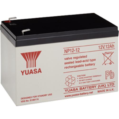 Batteria Yuasa NP12-12 - 12000 mAh - Piombo acido sigillati - 12 V DC - Batteria ricaricabile