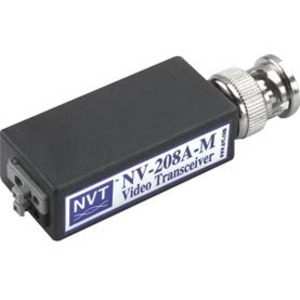 Video Balun NVT NV-208A-M - 15 kHz a 5 MHz - 1 km Maximum Operating Distance - BNC In