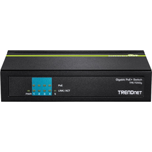 Ethernet Switch TRENDnet TPE-TG50g 5 Porte - 2 Layer Supported - Desktop