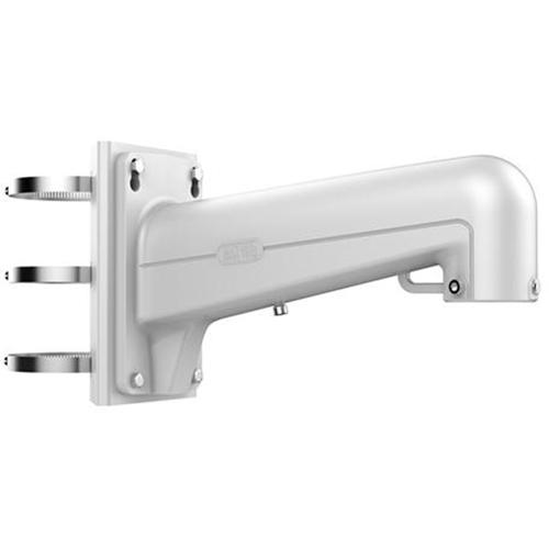 Montaggio poli Hikvision DS-1602ZJ-POLE per Telecamera di rete - 30 kg Capacità di carico - Bianco