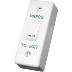 CDVI Push Button - Plastica, Acciaio inox