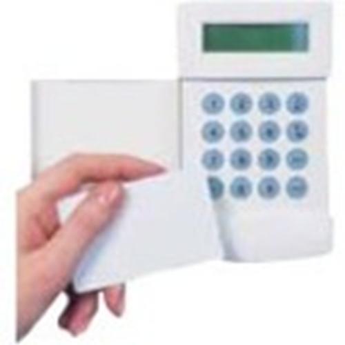 Carta d'identità Honeywell - Printable - Scheda di prossimità - 55 mm Larghezza - Bianco