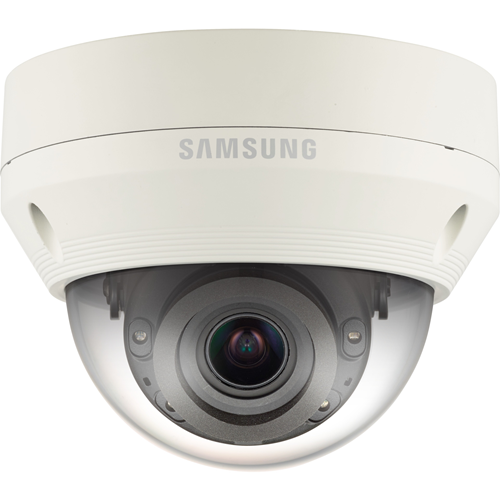 Telecamera di rete Hanwha Techwin WiseNet QNV-7080RP 4 Megapixel - Monocromatico, Colore - 30 m Night Vision - Motion JPEG, H.264, H.265 - 2688 x 1520 - 2,80 mm - 12 mm - 4,3x Ottico - CMOS - Cavo - Dome
