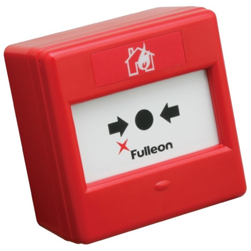 Fulleon Per Outdoor, Allarme antincendio - Rosso - Plastica ABS, Vetro
