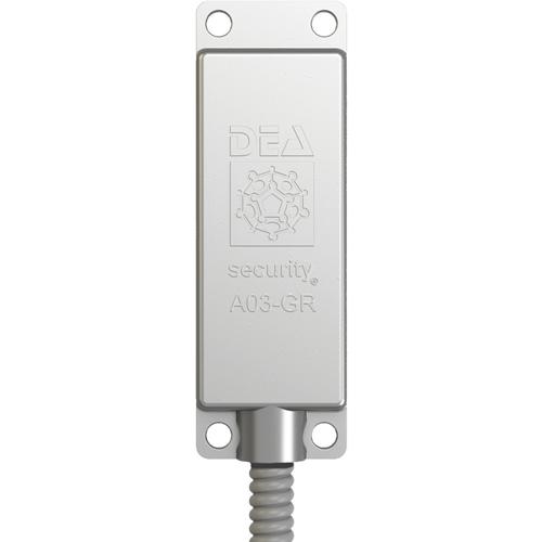 Sensore della vibrazione DEA Security - Rilevatore piezoceramico per inferriate e porte metalliche