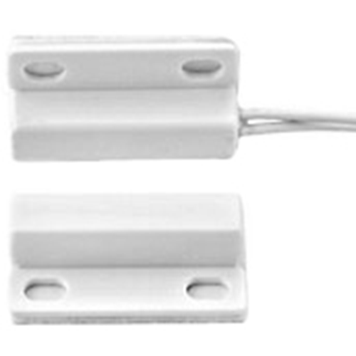 Honeywell MPS45W Cavo Contatto magnetico - N.C. - 20 mm Spazio - Per Porta, Window - Superficie di montaggio - Bianco