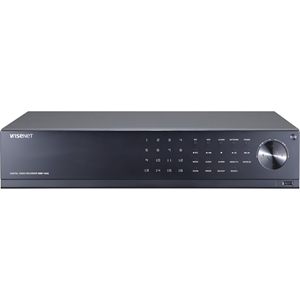 Stazione di videosorveglianza Hanwha Techwin WiseNet HD+ HRD-1642 - 16 Canali - Registratore video digitale - H.264 Formati - 1 TB Disco rigido - 480 Fps - Ingresso video composito - 16 Audio In - 1 Audio Out - 1 VGA Out - HDMI
