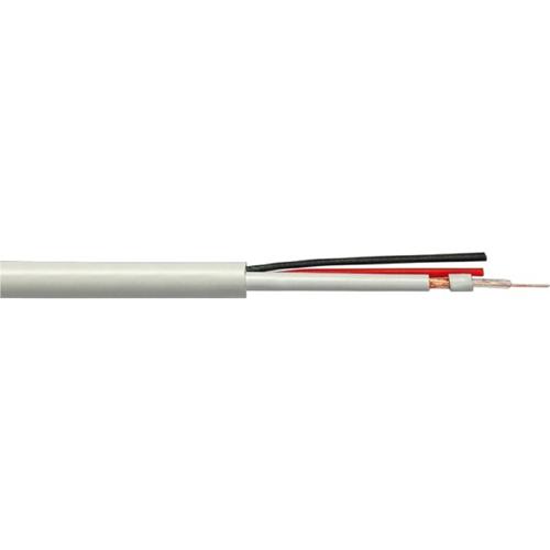 Cavo A/V KTS - RG-59 - for Dispositivo audio/video - 100 m - Cavo spellato - Cavo spellato - Nero