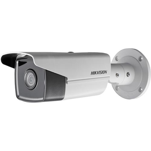 Telecamera di rete Hikvision EasyIP 2.0plus DS-2CD2T43G0-I5 4 Megapixel - Colore - 50 m Night Vision - H.264, H.265, Motion JPEG - 2688 x 1520 - 4 mm - CMOS - Cavo - Proiettile - Montaggio sulla scatola di collegamento