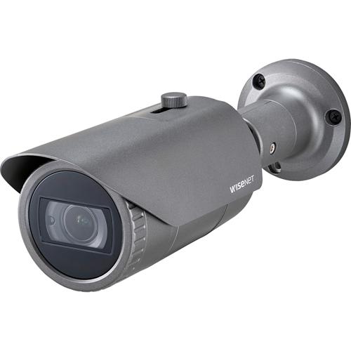 Videocamera di sorveglianza Hanwha Techwin WiseNet HD+ HCO-7070R 4 Megapixel - Monocromatico, Colore - 30 m Visione notturna - 2560 x 1440 - 3,20 mm - 10 mm - 3,1x Ottico - CMOS - Cavo - Proiettile - Montaggio scatola da incasso, Ceiling Mount, Montaggio a muro, Montaggio poli