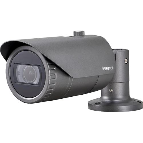 Videocamera di sorveglianza Hanwha Techwin WiseNet HD+ HCO-6080RP 2 Megapixel - Monocromatico, Colore - 30 m Visione notturna - 1920 x 1080 - 3,20 mm - 10 mm - 3,1x Ottico - CMOS - Cavo - Proiettile - Montaggio poli, Montaggio su struttura
