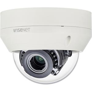 Videocamera di sorveglianza Hanwha Techwin WiseNet HD+ HCV-6080R 2 Megapixel - Colore, Monocromatico - 30 m Visione notturna - 1920 x 1080 - 3,20 mm - 10 mm - 3,1x Ottico - CMOS - Cavo - Dome - Montaggio a flusso, Montaggio sospeso, Montaggio a muro, Pendente, Montaggio ad angolo, Montaggio parapetto, Montaggio poli