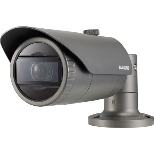 Telecamera di rete Hanwha Techwin WiseNet QNO-6070RP 2 Megapixel - Monocromatico, Colore - 30 m Visione notturna - Motion JPEG, H.264, H.265 - 1920 x 1080 - 2,80 mm - 12 mm - 4,3x Ottico - CMOS - Cavo - Proiettile