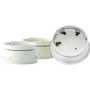 Sirena/Luce stroboscopica Honeywell Intelligent - 32 V DC - 95 dB(A) - Udibile, Visual - Parato montabile - Bianco, Rosso