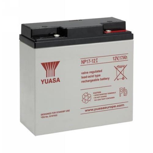 Batteria Yuasa NP17-12 - 17000 mAh - Piombo acido - 12 V DC - Batteria ricaricabile