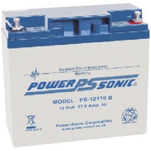 Batteria Power-Sonic PS-12170 - 17000 mAh - Piombo acido sigillati - 12 V DC - Batteria ricaricabile - 1 / Confezione