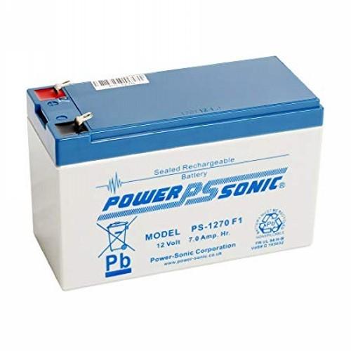Batteria Power-Sonic PS-1270 - 7000 mAh - Piombo acido sigillati - 12 V DC - Batteria ricaricabile - 1 Pacco