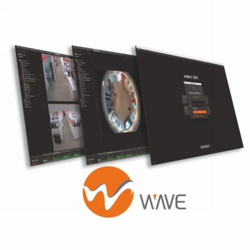 LICENZA S/WARE WiseNet Wave 1 Ch Video