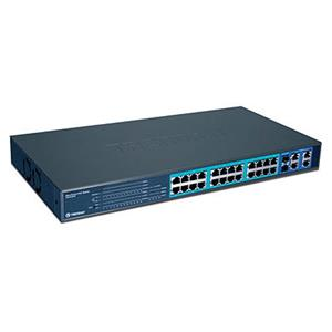 Switch 24 porte 10/100 Mbps Fast Ethernet
